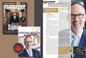Markus Eggersdorfer Top Personaler im manager magazin